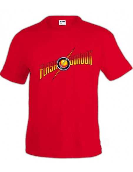 Camiseta Flash Gordon (Logo Clásico)