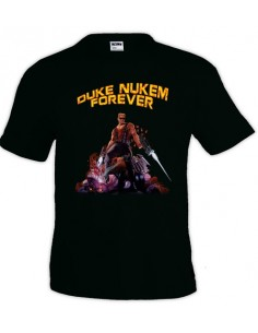 Camiseta Duke Nukem (Destroyer) negra manga corta