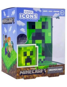 lámpara Minecraft Figura Creeper