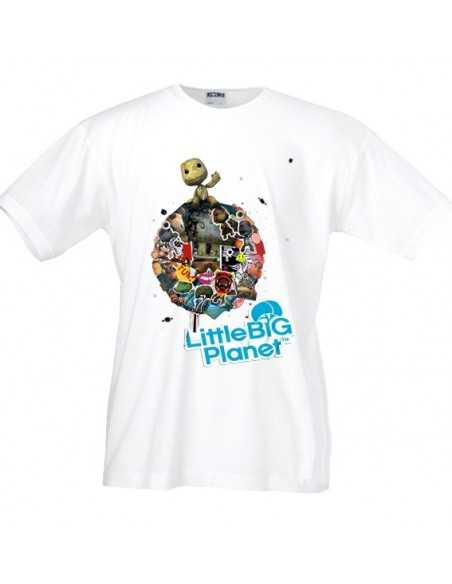 Camiseta Little big Planet 2 (Classic) blanca