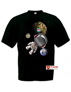 Camiseta Little Big Planet Astronauta negra