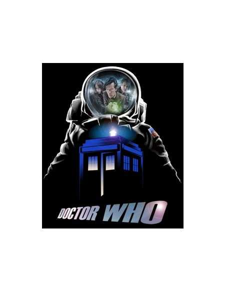 Camiseta Doctor Who astronauta manga larga