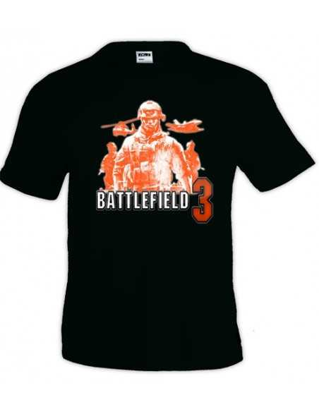 "Camiseta Battlefield 3 ""orange soldiers"" manga corta"