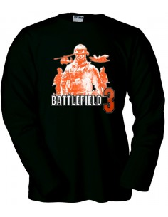 "Camiseta Battlefield 3 ""orange soldiers"" manga larga"