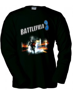 Camiseta Battlefield 3 Blue manga larga