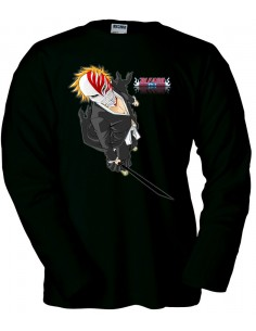 Camiseta Bleach Ichigo manga larga