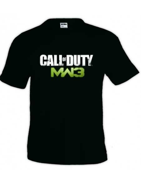 Camiseta Call Of Duty Modern Warfare 3 Logo Classic manga corta