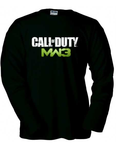 Camiseta Call Of Duty Modern Warfare 3 Logo Classic manga larga