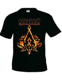 Camiseta Assassin´s Creed Revelations Ottoman negra manga corta