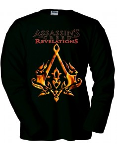 Camiseta Assassin´s Creed Revelations Ottoman negra manga Larga