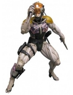 METAL GEAR SOLID 4 FIGURA DE ACCIÓN RAIDEN UDF 18 CM