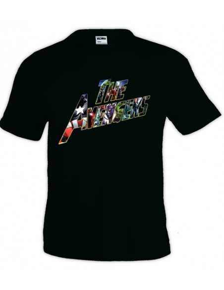 Camiseta The Avengers 2012 manga corta
