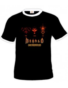 Camiseta Diablo III Evolution Boston