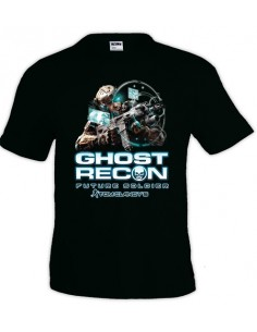 Camiseta Ghost Recon future soldier technology manga corta