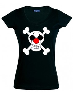 "Camiseta One Piece ""Buggy"" manga corta Chica"