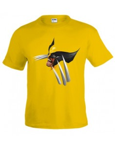 Camiseta x-men Wolverine yellow