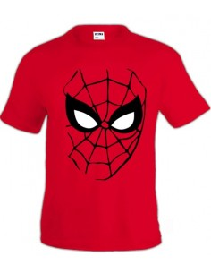 "Camiseta Spiderman ""Face"" manga corta"
