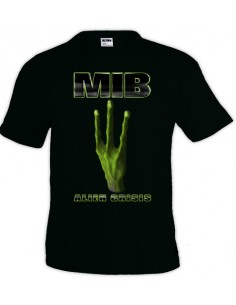 Camiseta Men In Black Alien Crisis