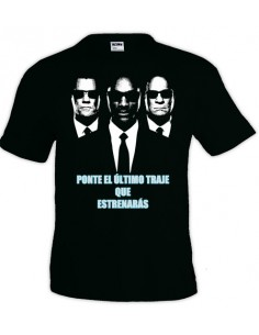 "Camiseta Men In Black ""Último Traje"""