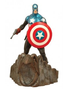 "Figura Capitan America ""Marvel Select ""18 cms"