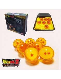CAJA CON 7 BOLAS DE DRAGON BALL