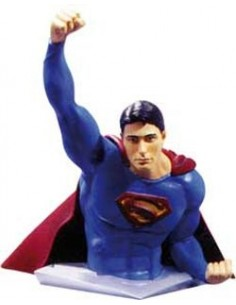 BUSTO SUPERMAN VUELO PVC 12 CM DE SUPERMAN RETURNS