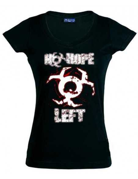 Camiseta Resident Evil 6 -No Hope Left- de chica manga corta