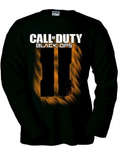 Camiseta Call of Duty Black Ops 2 Simbolo II manga larga