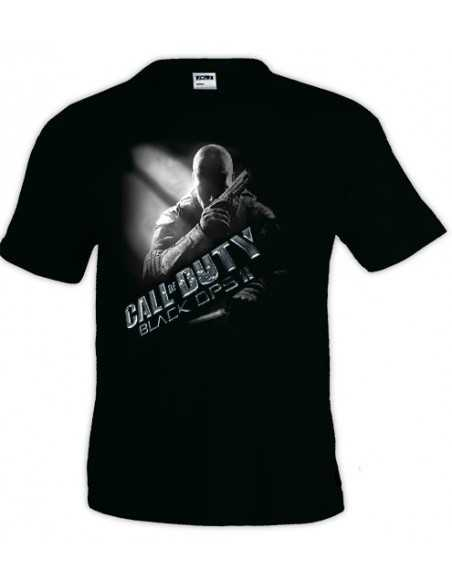 Camiseta Call Of Duty Black Ops 2 Prestigio-metal manga corta