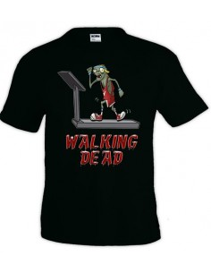 Camiseta Walking Dead Running manga corta