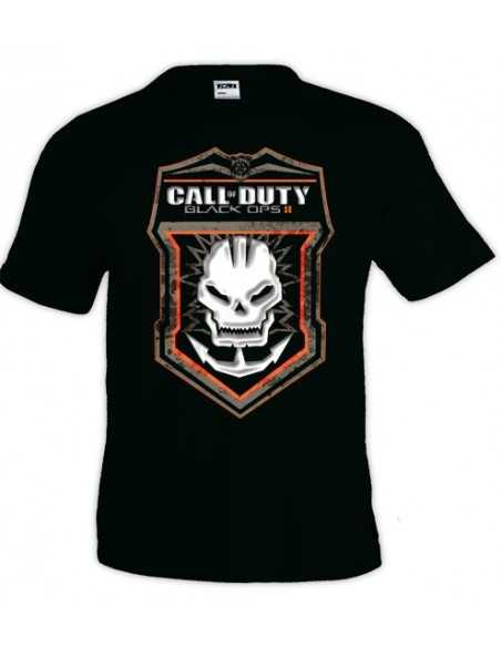 Camiseta Call Of Duty Black Ops II -Skull- manga corta