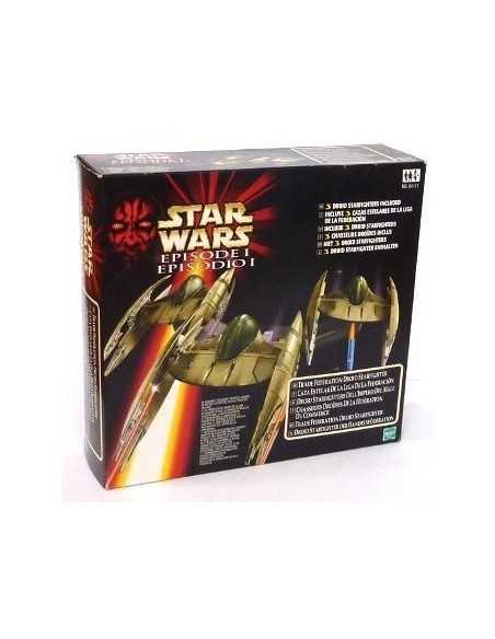 Pack de 3 Naves Droides Star Wars Espisodio1 de 1999 y de 30 cms