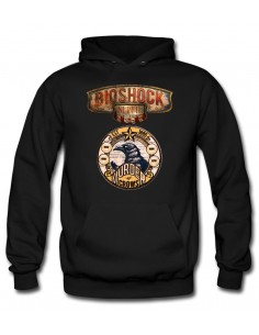 Sudadera Bioshock Infinite Crows-medal
