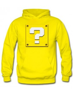 Sudadera Super Mario Bros ,Bloque interrogante-