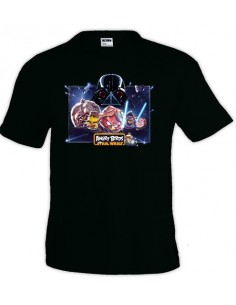 Camiseta Angry birds Star Wars manga corta