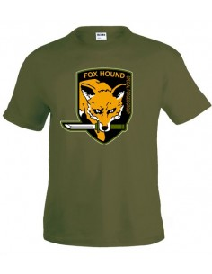 Camiseta Metal Gear Fox Hound