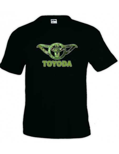 Camiseta Star Wars Yoda - Toyoda