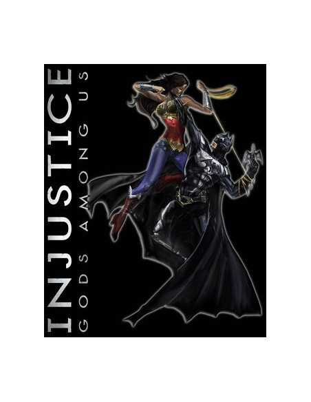 Camiseta Injustice gods among us - Diorama pata Chicas