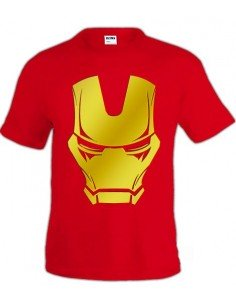 Camiseta Iron man - Face