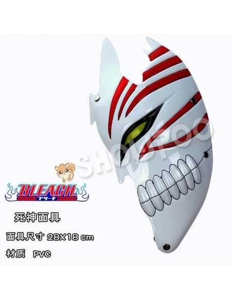 Mascara Ichigo Hollow -Bleach- blanca