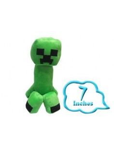 Peluche Creeper 17 cm - Minercraft