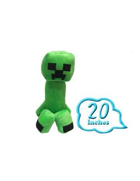 Peluche Creeper 45 cm - Minercraft