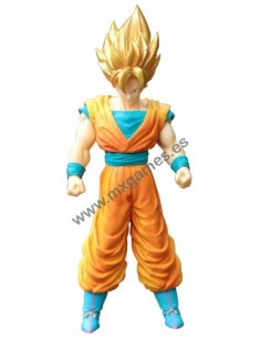 Figura Son Goku Super Sayan 40cm (pelo dorado) Dragon Ball