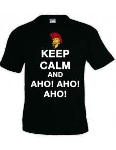 Camiseta Keep Calm and aho aho aho