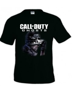 Camiseta Call of Duty Ghosts - fanart