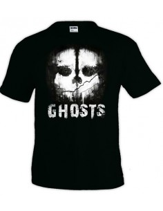 Camiseta Call of Duty Ghosts - Skull fanart