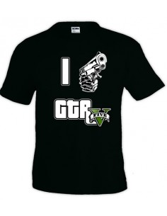 Camiseta Grand Theft Auto - I Love Gta V