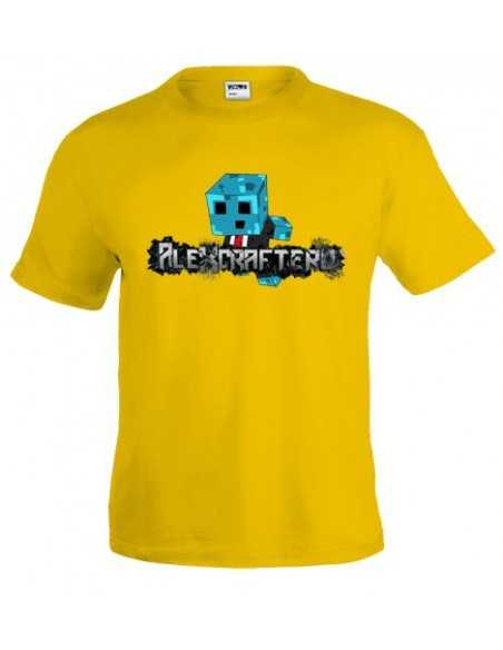 Camiseta Alexcraftero Youtube - Minecraft