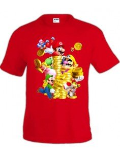 Camiseta New Super Mario Bros 2 - Mx Games