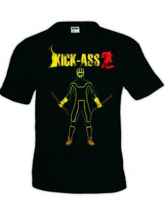 Camiseta Kick Ass 2 Silueta | Mx Games